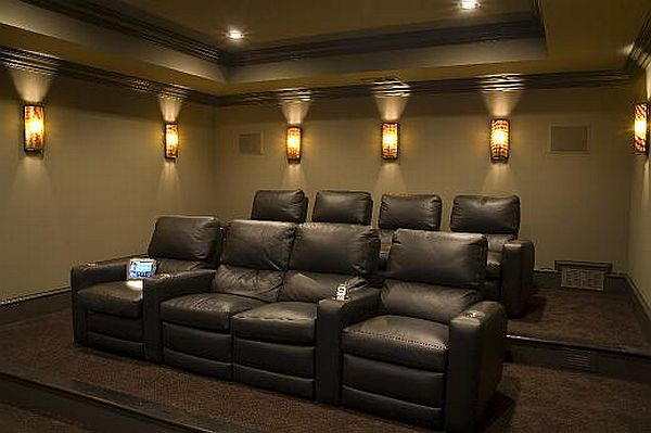 Home Theater Furniture ~ Home theatre brocky s tv