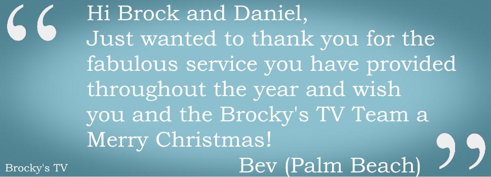 Brocky's TV Feedback