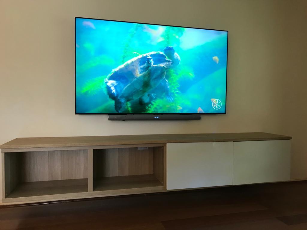 tidy tv mounting