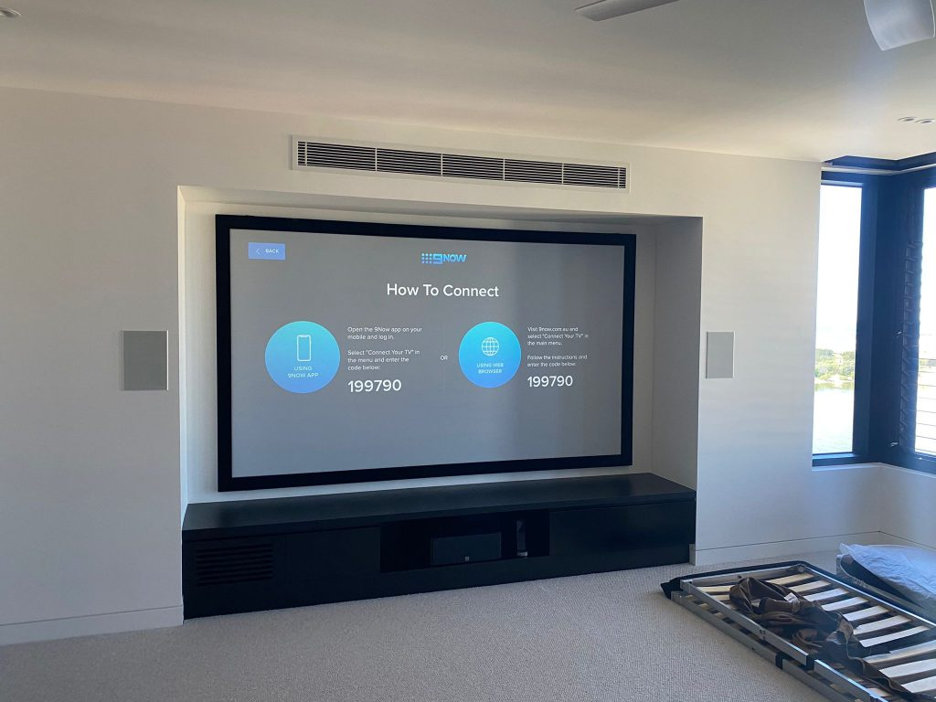 screen mounting